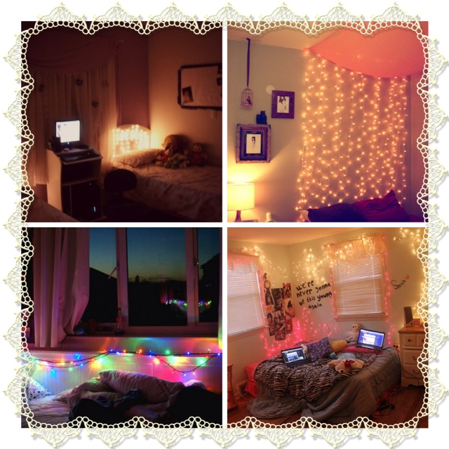 Hey Catarina: DIY: How to decorate your room with Fairy Lights