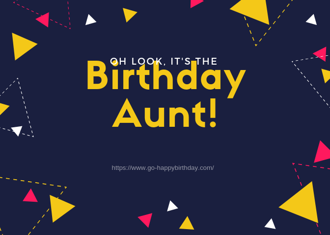 Happy Birthday Aunt Images