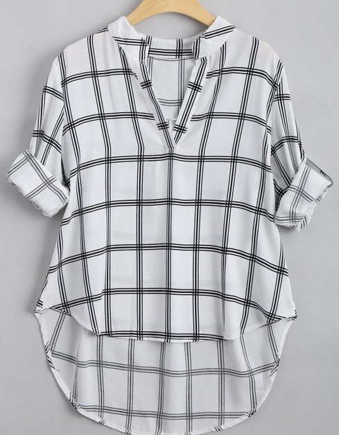 https://www.zaful.com/v-neck-checked-high-low-blouse-p_304202.html?lkid=11696838