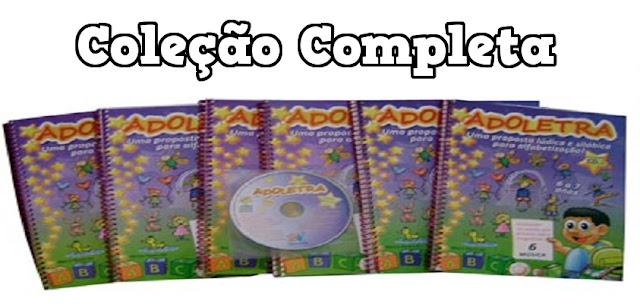 BAIXE EM PDF - Coleção Adoletra - Volume 1, 2, 3 e 4
