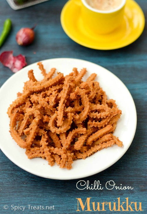 Spicy Rice Murukku