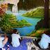 Vẽ Tranh Tường Phong Cảnh Tại Vũng Tàu