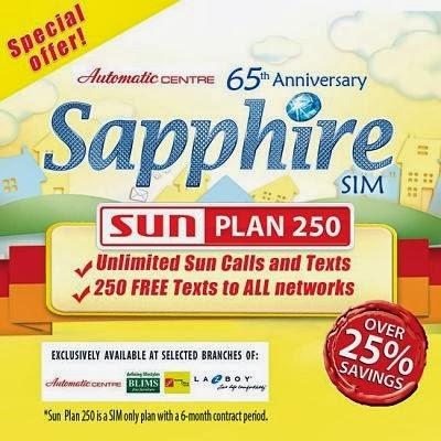 Sun SIM Only Plan 250