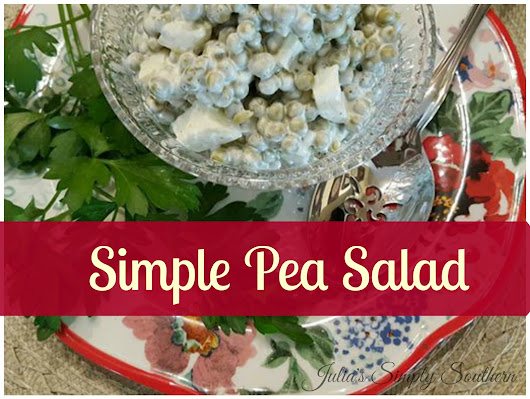 Simple Pea Salad
