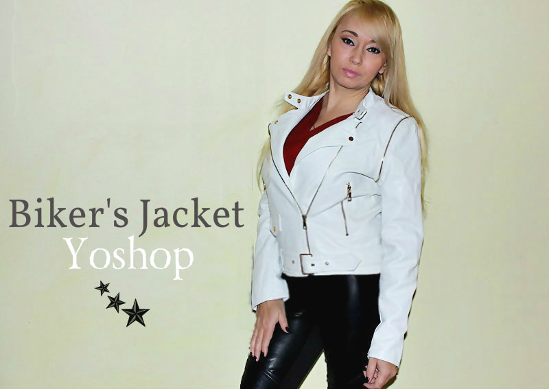 "Yoshop haul: Куртка-""косуха"" Zippered Faux Leather Biker Jacket / обзор, отзывы"