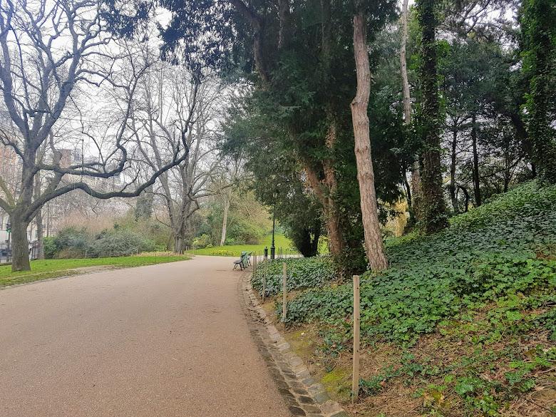公園內的一角