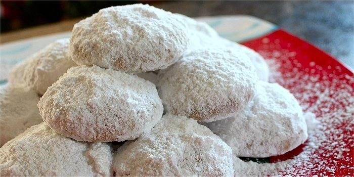 Kourabiedes, biscotti greci tradizionali di Natale