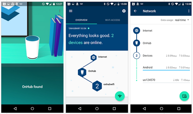 OnHub - Router Penguat Sinyal Internet & WiFi buatan Google