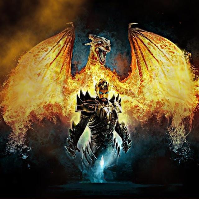 Fire Dragon Wallpaper Engine
