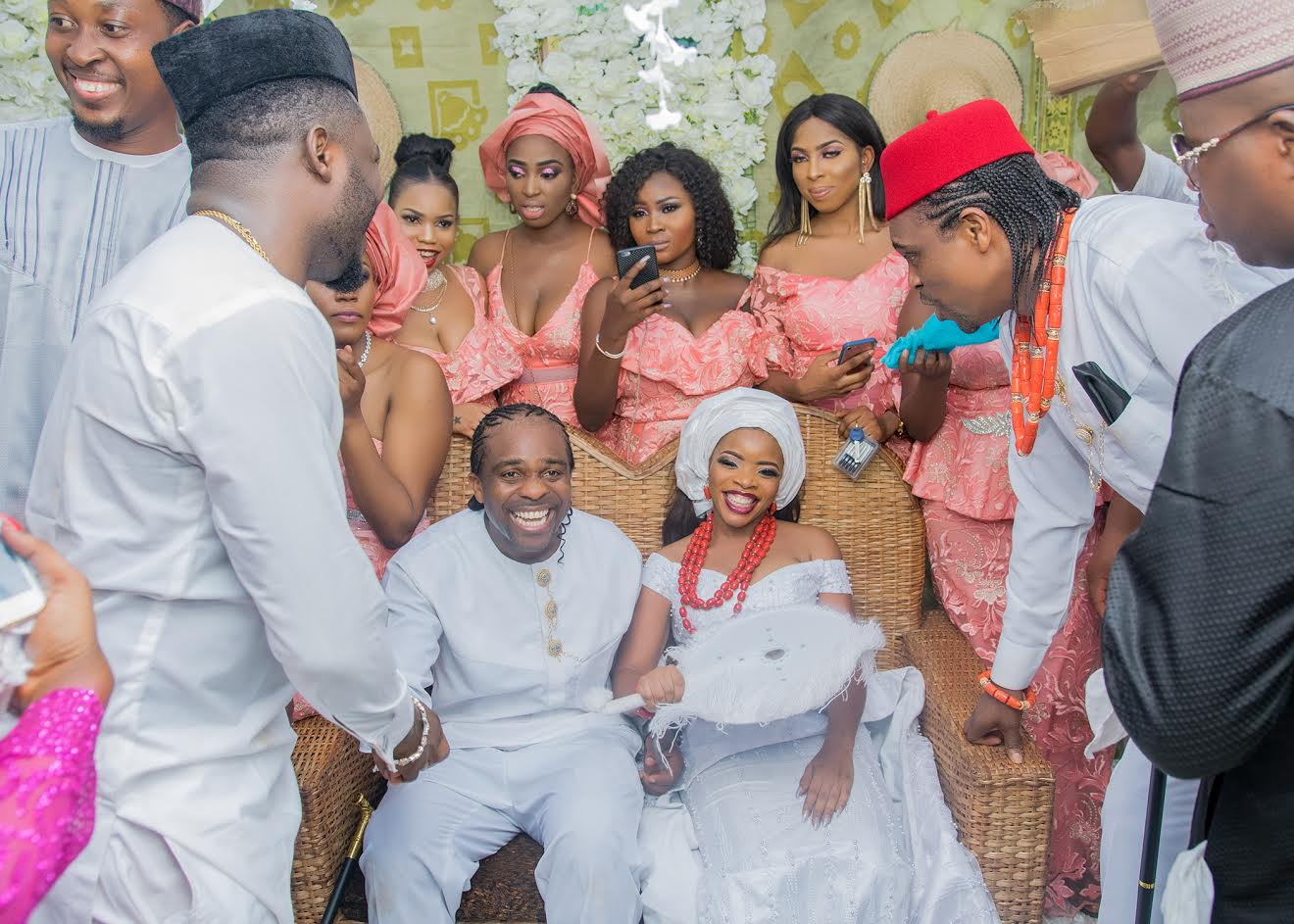 wedding photos when linda ikejis sister married nwankwo