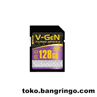 128GB - VGEN - SD Card Turbo Series