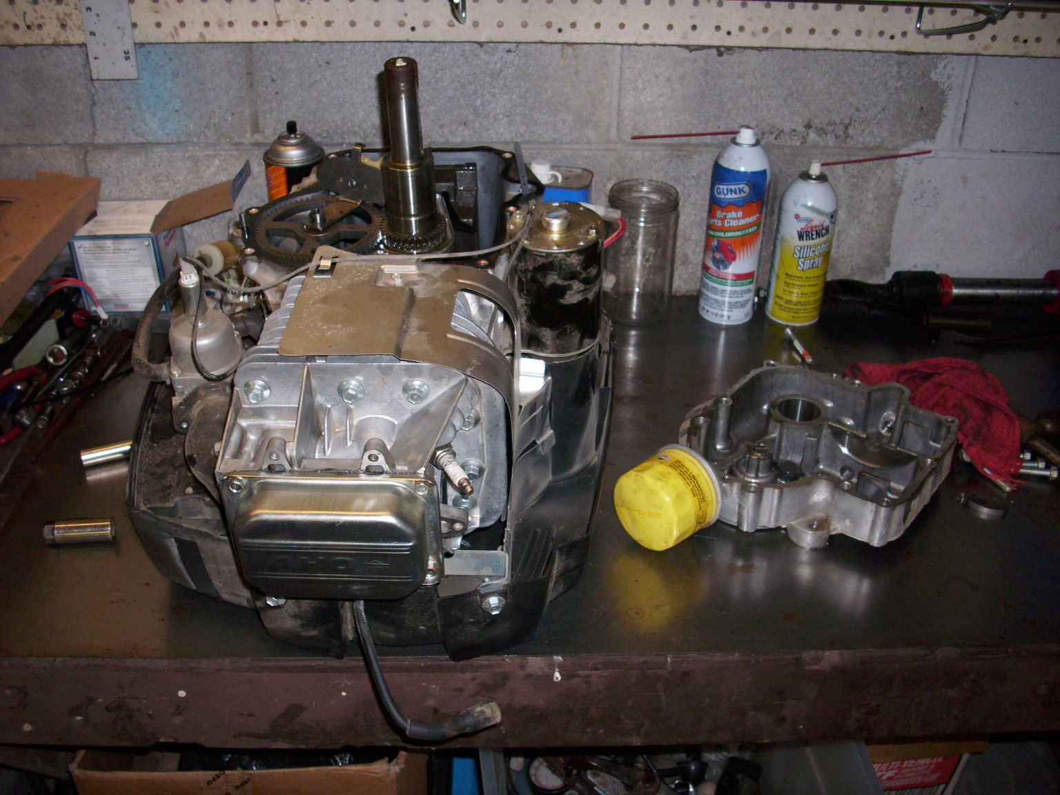 Steves Fix It Shop: Briggs and Stratton 21HP Won't Crank Over