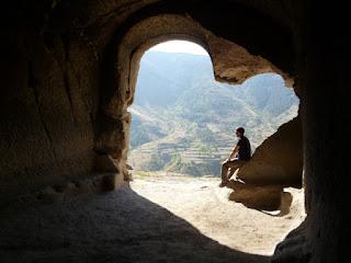Vistas desde las cuevas