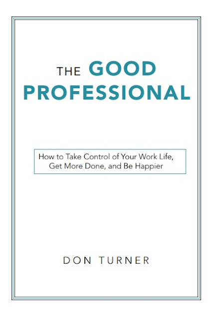 Cover page of The Good Professional by Don Turner