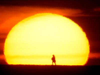Hasil carian imej untuk matahari naik sebelah barat