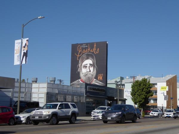 Baskets season 2 billboard