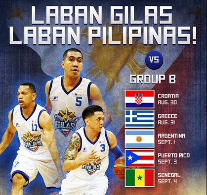 Group B FIBA World Cup 2014