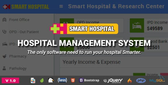 Hospital Management System Nulled Free Download Smart Hospital v1.0 - Hospital Management System - Nulled