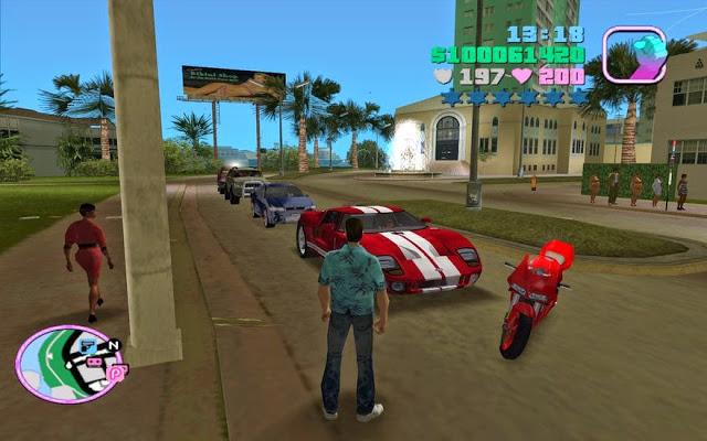 تحميل لعبة جاتا Download GTA 7 للكمبيوتر برابط مباشر من ميديا فاير