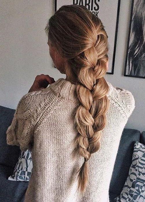 perfect braid idea for long hair