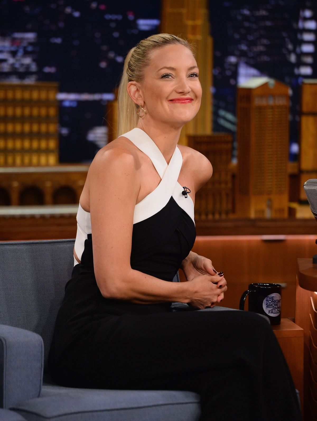 Kate Hudson At Tthe Tonight Show Starring Jimmy Fallon