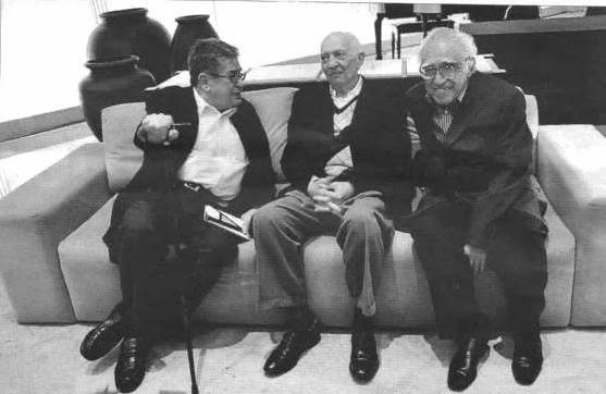 Fotos de José Emilio Pacheco, Monsivais y Pitol