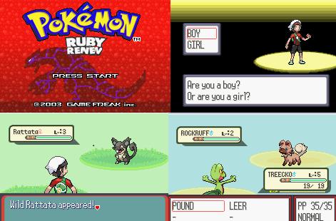 Pokemon Ruby Renev gba