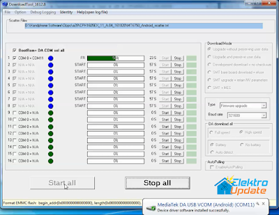 Cara Flash dan Downgrade Oppo A39 Agar Dapat di Root