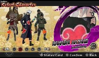 Download Texture Naruto Impact: Kakashi (Akatsuki) for PPSSPP Terbaru
