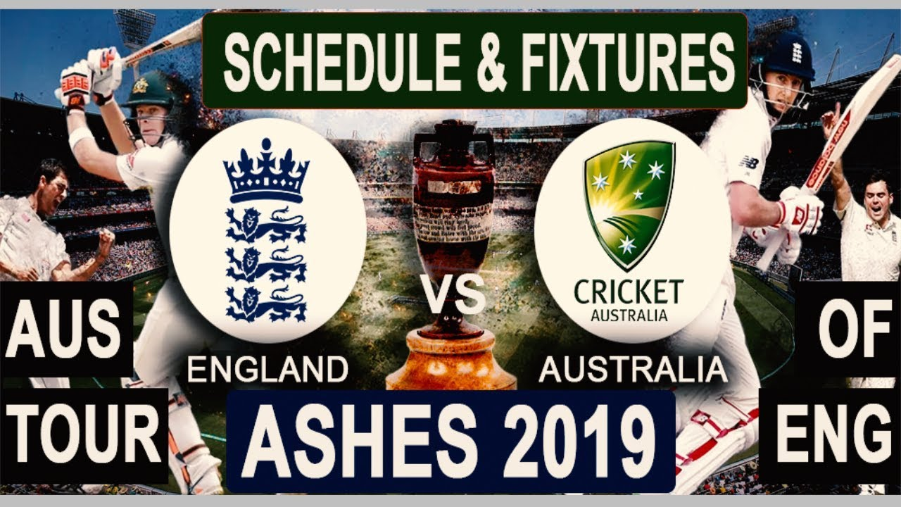 The Ashes 2019 Schedule, Squads    England vs Australia 2019 Team Captain and Players ESPNcricinfo, Cricbuzz, Wikipedia, The Ashes International Matches Time Table.