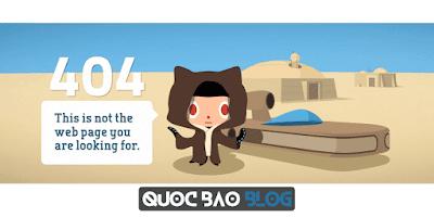 Tạo trang 404 hiệu ứng 3D giống Github