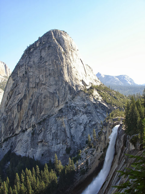 Yosemite National Park Waterfall Half Dome Backpack Hike