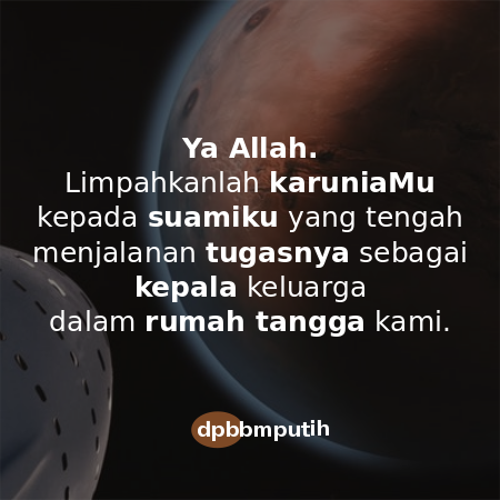 Doa Untuk Suami Yang Sedang Kerja Hijabikacom