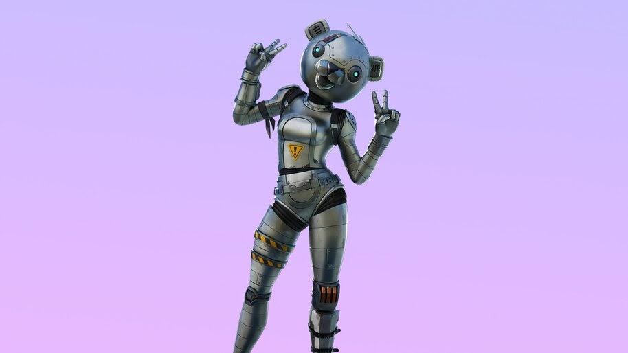 Fortnite, Metal Team Leader, 4K, #5.2131