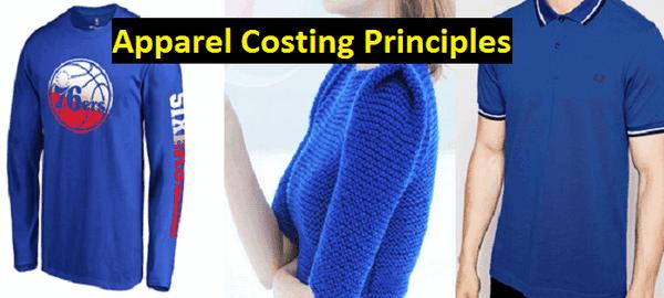 Apparel costing principle