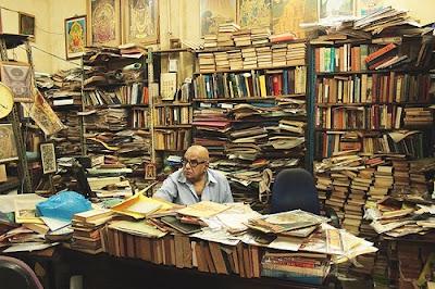 A view of Rare Bookstore and Govindraju