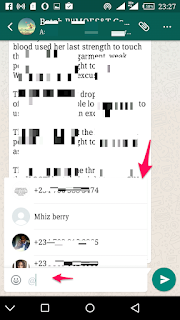 Whatsapp new feature allows you to tag someone in group chats