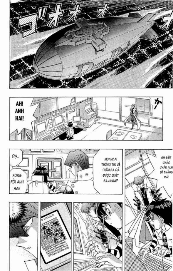 YUGI-OH! chap 230 - thay đổi tương lai! trang 17