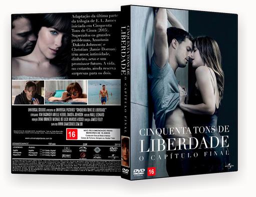 DVD – Cinquenta Tons de Liberdade – ISO – CINEMA