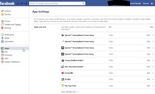 Akun Facebook Mengirim Pesan Sendiri - hapus aplikasi spam