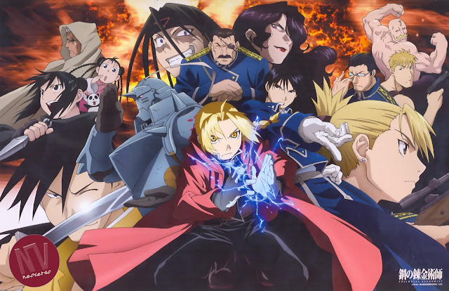 Full Metal Alchemist Brotherhood wallpaper