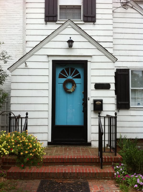 White House Black Shutters What Color Door Tcworks Org