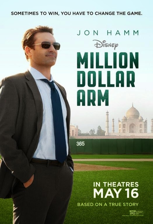 Million Dollar Arm movie review