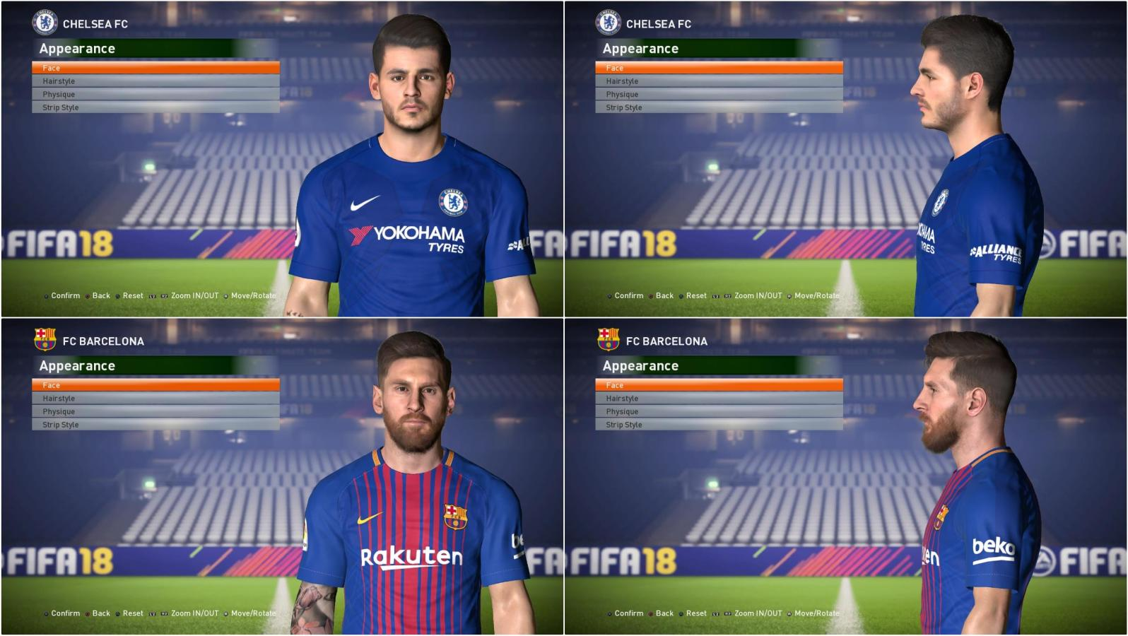 Ultigamerz Pes 2017 Morata And Messi Face Update And Fix