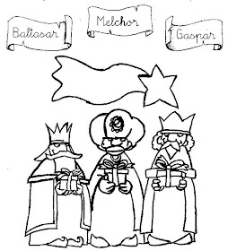 Three Kings Day Coloring Pages Los Tres Reyes Magos Lets ... | 280x254
