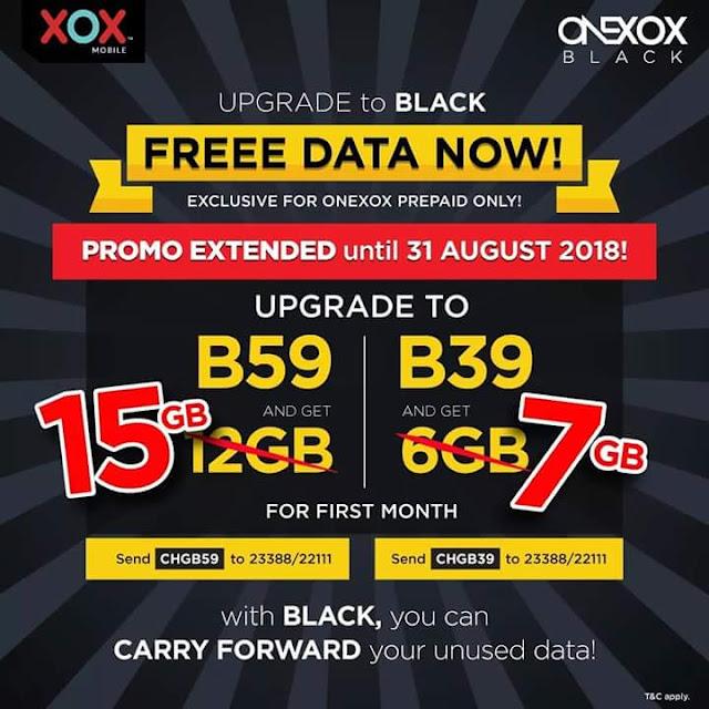 Free DATA Onexox