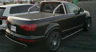 Audi pourrait secouer le marché des camionnettes avec un modèle basé sur Q7