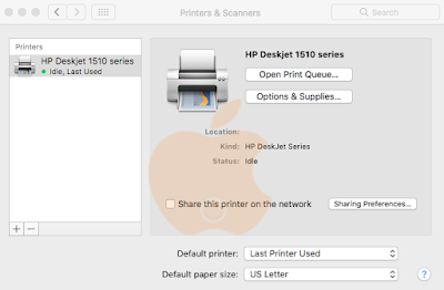 Cara Install dan Setting Printer di Mac OS X