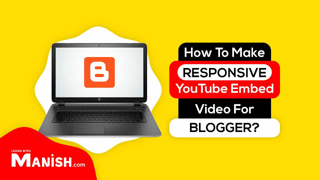 make responsive YouTube embed video for blogger template