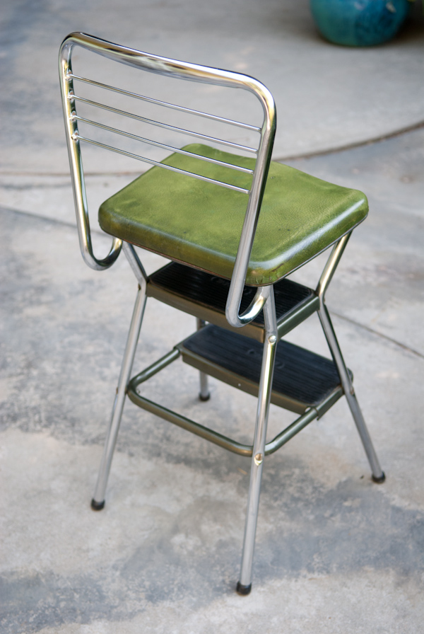 Heygreenie Vtg Retro Cosco Step Stool Chair Estate Sold